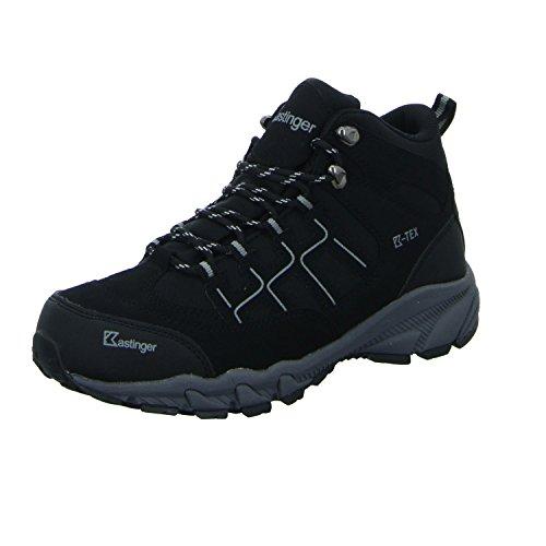 kastinger women's trailrunner ii md hiking shoes black schwarz (schwarz)