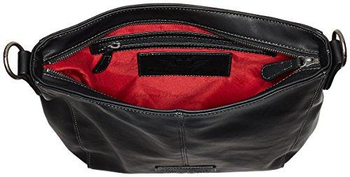 Fritzi aus Preußen Damen Beatriz Business Tasche, 10x30x32 cm Schwarz (Black)