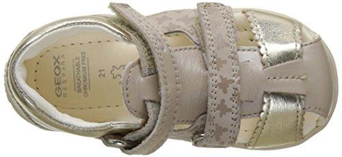 Geox B Kaytan C, Chaussures Marche Bébé Fille Beige (Beige/Goldc0871)