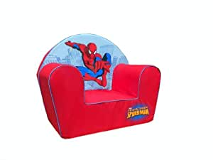 Disney - 6720039 - Fauteuil - Spiderman - Rouge