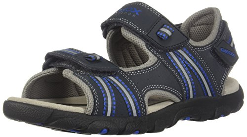 Geox J4224A 0CE14 Sandalo Velcro enfant Bleu 35