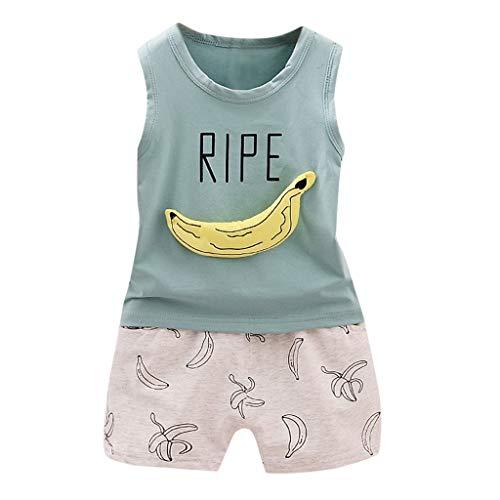 QinMM niños Bebes Animados Pato Camiseta + Pantalones...