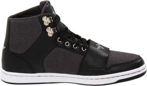 Creative Recreation CESARIO CR412, Baskets mode homme Gris / Noir (Grey suit Black)
