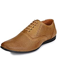 Fentacia Men Tan Formal Shoes