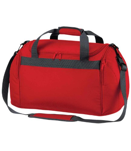 Bagbase - Borsone in Tela 26 Litri Rosso (Classic red)