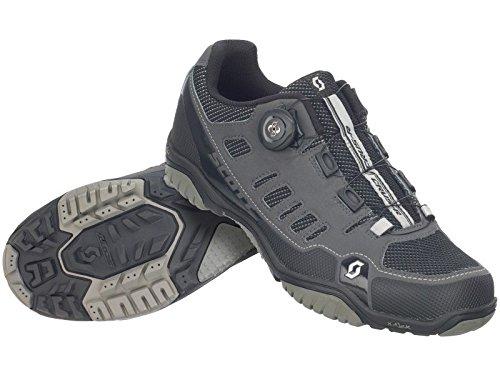 Zapatillas MTB Scott Crus-R Boa Antracita-Negro Talla 40