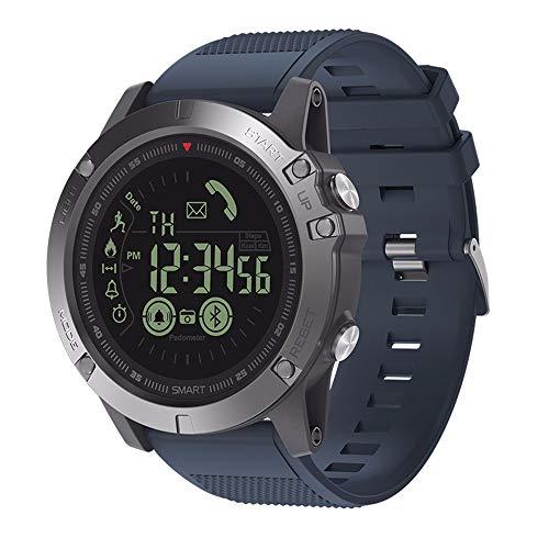 LRWEY Fitness Smart Watch, Intelligente Sportuhr Wasserdichte Alarm Kamera, FüR iOS Android