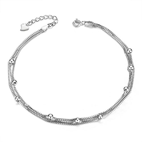 women rhinestone bracelets anklet alloy a unique anklets white cocomelody for ankle