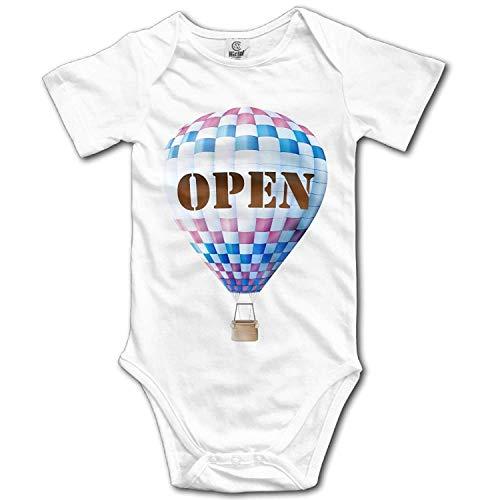Cop Girl Kostüm Hot - TKMSH Unisex Baby's Climbing Clothes Set Hot Air Balloon Bodysuits Romper Short Sleeved Light Onesies for 0-24 Months