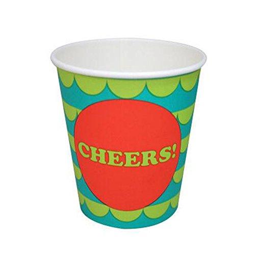 60 Counts Getr?nke Paper Cup Partei Saft Pappbecher Wasser-Schale, No.1