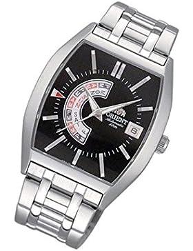 Orient Uhr Classic Automatik black Tag Datum Herrenarmbanduhr klassische Uhr FFNAA002BH