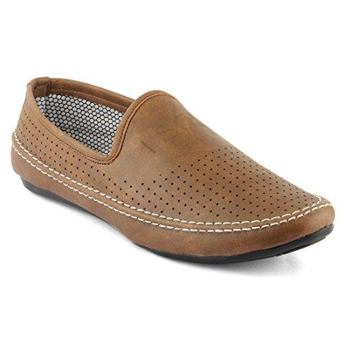 Isole Tan Party Wear Casual Loafers