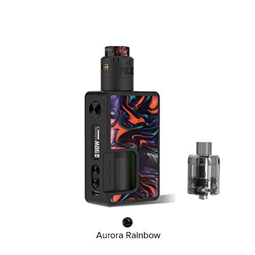 Vandy Vape Pulse X Kit Sonderausgabe, E Zigarette Squonk Kit Kein Nikotin und Tabak (Aurora-Regenbogen) -