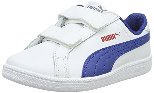 Puma Smash Fun L V PS, Sneakers Basses Mixte Enfant