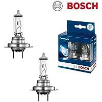 2x Hella H7 55W 12V Halogen Lampen Set original wei/ß 8GH007157-121 Abblendlicht Fernlicht Nebelscheinwerfer