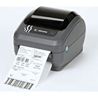 Zebra GK420d Direct Thermal Printer. 203dpi 8 dot, Print Width 104mm, USB/Serial/Parallel connectivity, ZPL ZPL II, Power Supply with UK/European Cords with USB Cable.