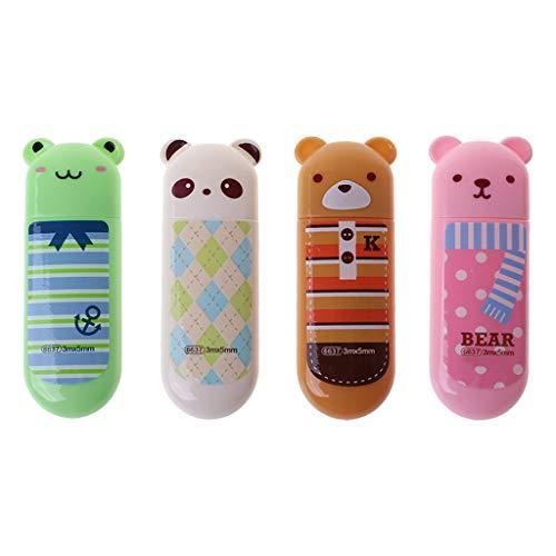 Fogun cute cartoon animal correttore a nastro, scuola ufficio pc kawaii stationery gift