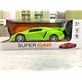 """RR Toys 2 Function Remote Car can go Forward Backward """" Racing Sports Car, Remote car for Kids ( Assorted Colors ) Battery not Included"""