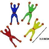 Sticky Spiderman, Wall Climbing Fun Toy (Set of 5)