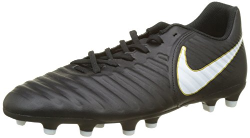 meet c6078 50dab NIKE Men s Tiempo Rio IV FG Footbal Shoes, White Black 002, 7 UK 41