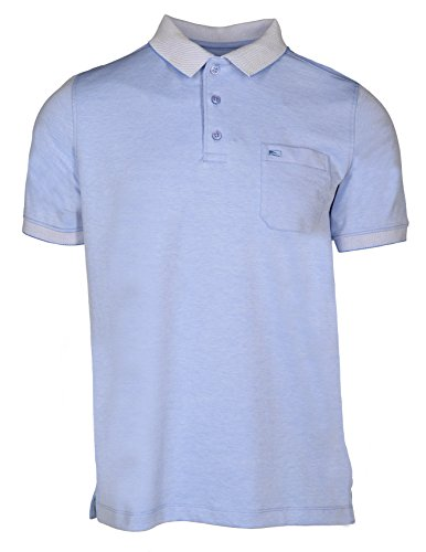 Commander 3-Knopf Poloshirt - Anthra (214005763) 606 BLUE