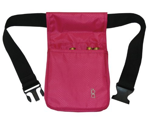 bob-allen-divided-shell-pouch-with-belt-medium-pink-by-unknown
