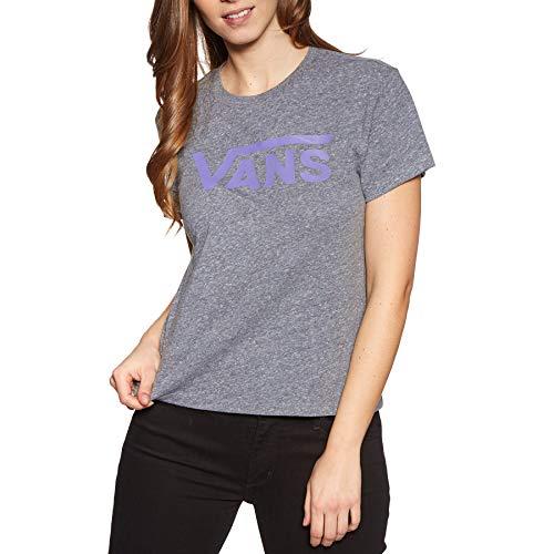 Flying V Crew T-Shirt Größe: L Farbe: Green/Heather - Green Heather-crew-t-shirt
