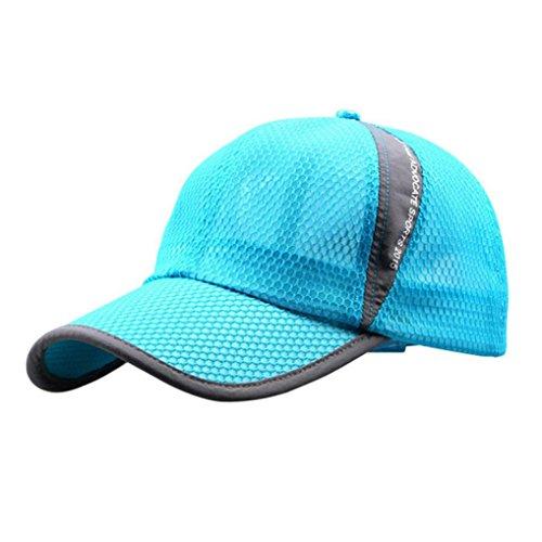 Sonnenschutz Kopf Herren Damen Outdoor Hut,OYSOHE Neueste Männer und Frauen Outdoor Urlaub Sonnenschutz Sonnenhut schnell trocknende Belüftung Baseball Cap