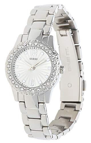 Guess orologio analogico quarzo donna con cinturino in acciaio inox w0889l1