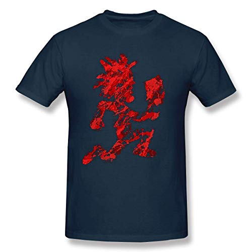 Bsstye Sport Hatchetman ICP Cotton Mens T Shirt Fashion Short Sleeves Man's T Shirts Black,Navy,3XL