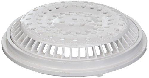 Anti-vortex-cover (Waterway 8 in. White Main Drain Anti Vortex Cover 640-2310V by Waterway)