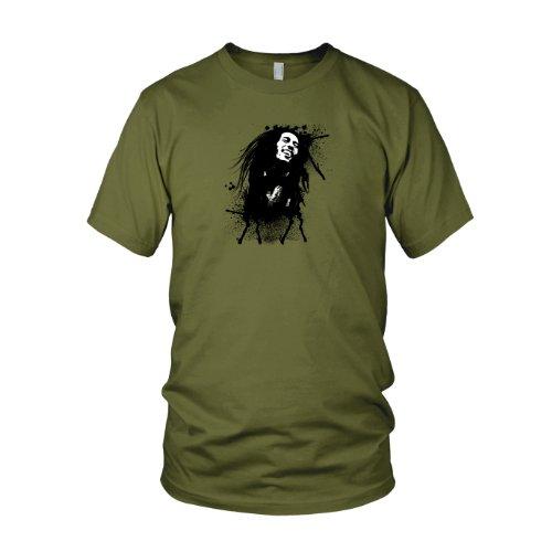 Marley Splash - Herren T-Shirt Army