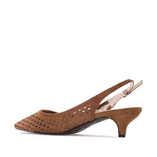 Andrés Machado.AM5176.Chaussures en SuédinePetites Pointures 32/35-Grandes Pointures 42/45 Marron