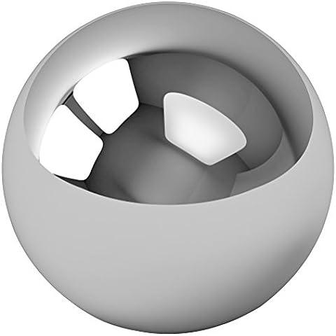 Rodamiento de bolas de acero de bicicleta de reemplazo diámetro 4mm 60Pcs