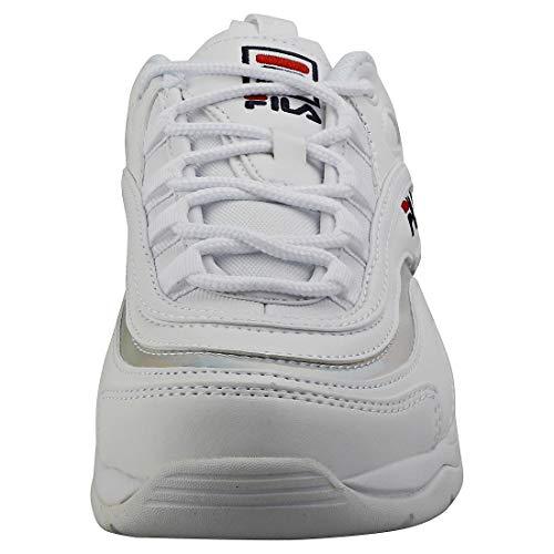 Fila Ray Damen WeißMetallic Silber Sneakers Damenschuhe