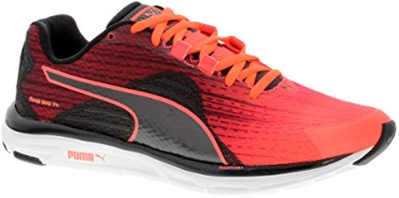 Puma Faas 500 V4 – Zapatillas de running de color rojo negro mujer Fiery Coral de Black de Periscope, mujer, Dunkelgrau...
