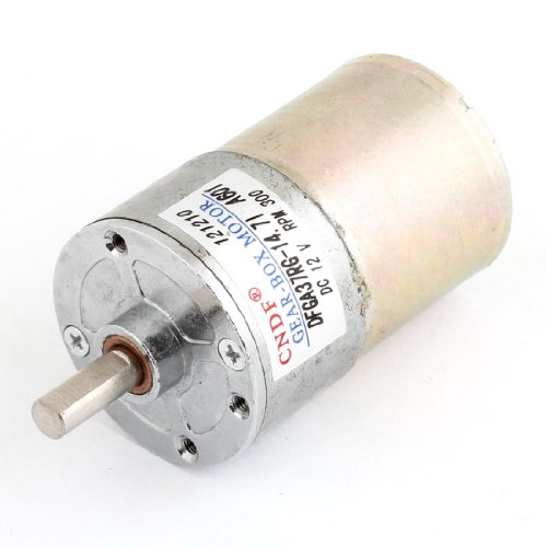 Sourcingmap - 12v dc 300 giri al minuto 6 millimetri albero magnetico riduttore elettrico sostituzione del motore
