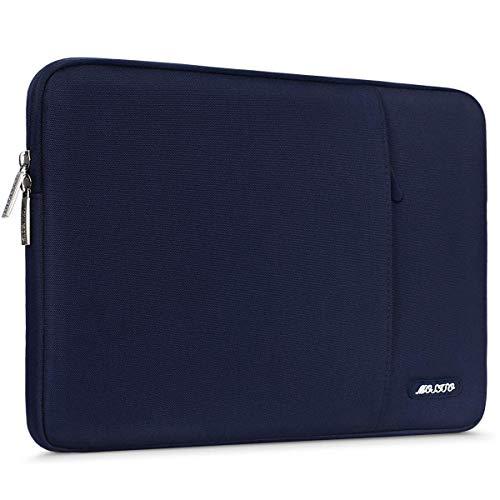 MOSISO Hülle Kompatibel iPad Air 3 10,5 2019, 9,7-11 Zoll iPad Pro, Surface Go 2018, iPad Air 2/Air (iPad 6/5), iPad 1/2/3/4 Wasserabweisende Polyester Vertikale Laptoptasche, Navy Blau