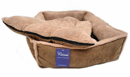 Luxury Fleece Cradle Dog Bed Size Extra Large XL 4