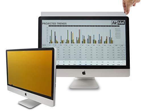 24 Zoll Gold Blickschutzfilter für Breitbildmonitor/LCD (16:10 Seitenverhältnis) Premium Antireflex-Schutzfolie, für Datenvertraulichkeit, 61 cm W10, Blau (3 16-protektor)
