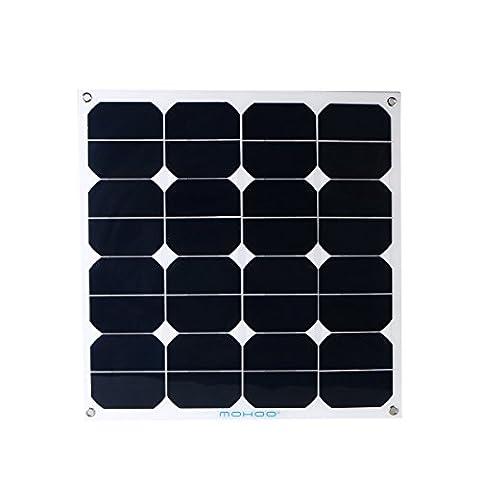 Solarpanel MOHOO® SUNPOWER_Chip Solar-Ladegerät 50W 12V MC4-Schnittstelle Silizium-Solarzellen für iPhone,