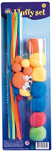 Playbox - Fluffy set with chenille pipe cleaners (PBX2470009) -