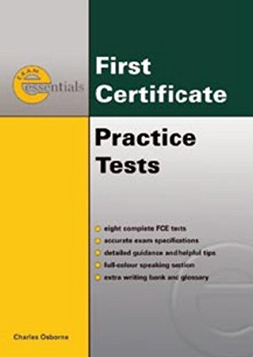 First Certificate Practice Tests (+ Key) (Exam Essentials)