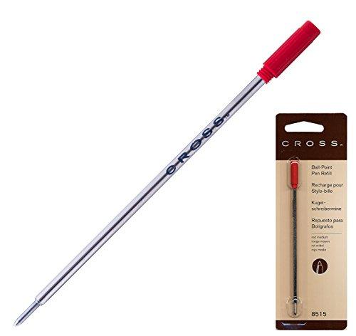 Cross 8515 Kugelschreiber Minen M Blisterkarte mit 1 Stück rot