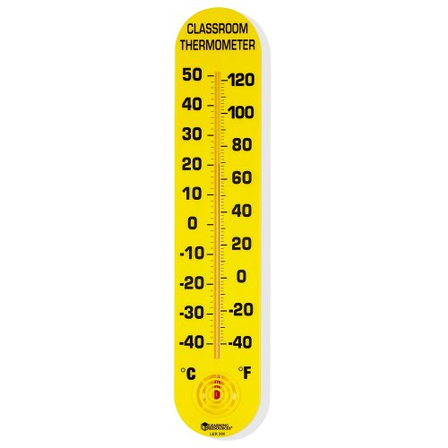 Learning Resources LER0380 Standard-Thermometer für das Klassenzimmer