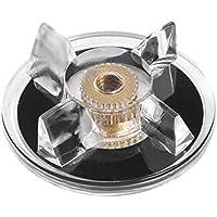 Jasnyfall Piezas de la licuadora Reemplazo de la licuadora de engranajes Piezas de repuesto Piezas de engranajes Accesorios negro