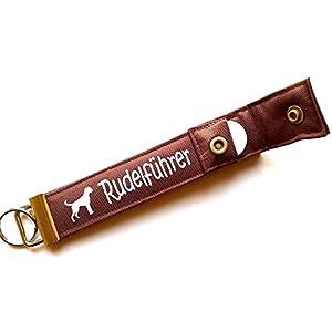 Boxer - Schlüsselanhänger / Schlüsselband mit Einkaufschip / Chip für: Boxer Liebhaber - Geschenk für Hundebesitzer...