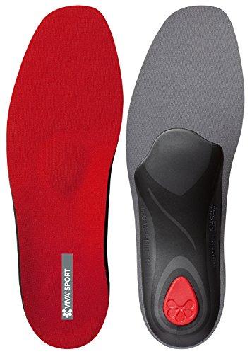 pedag-viva-sport-unisex-erwachsene-orthopadisch-einlegesohlen-rot-red-43-eu