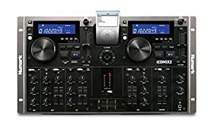 Numark iCDMIX 2 Dual CD Performance System with iPod Dock