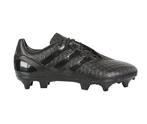 adidas Predator Cricketschläger Incurza XT SG Blackout Rugby Stiefel, Schwarz - Schwarz - Größe: 40 2/3 EU
